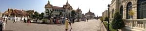 Panoramic Vew of Grand Palace